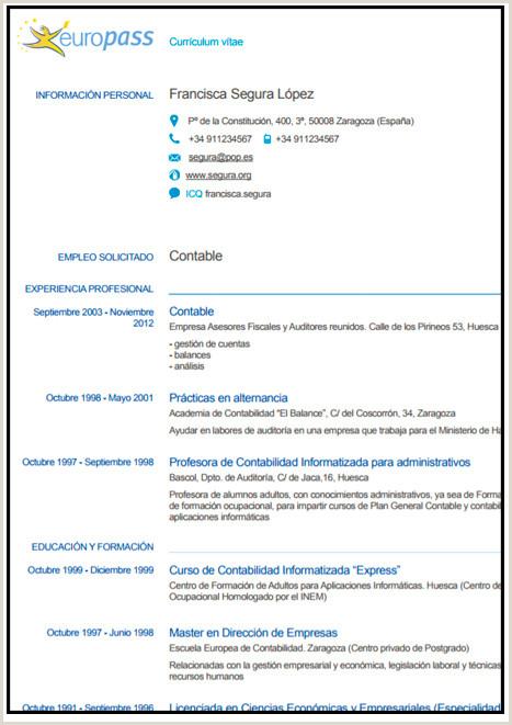 Formato De Curriculum Vitae Creativo Para Rellenar Gua】¿c³mo Hacer Un Curriculum Vitae ➤ Plantillas Para Cv