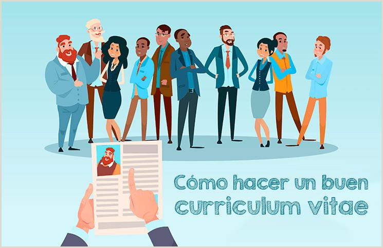 Formato De Curriculum Vitae Para Rellenar Con Foto Gua】¿c³mo Hacer Un Curriculum Vitae ➤ Plantillas Para Cv