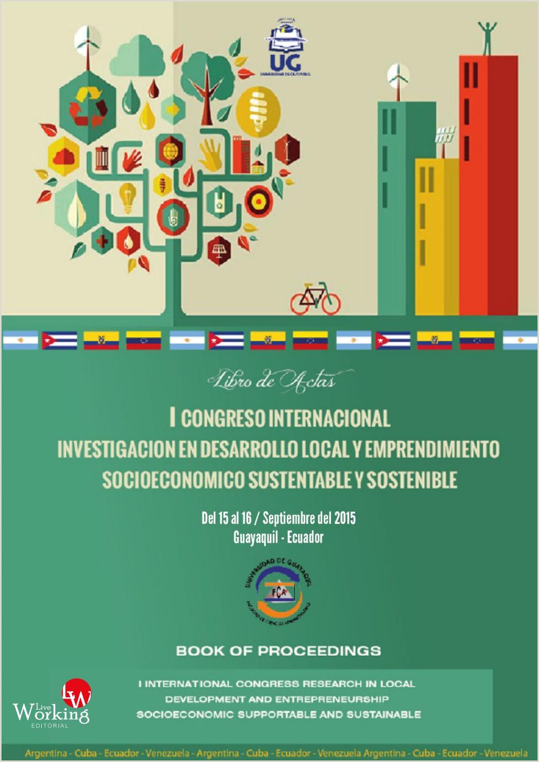 I Congreso de Investigaci³n de Desarrollo Local y