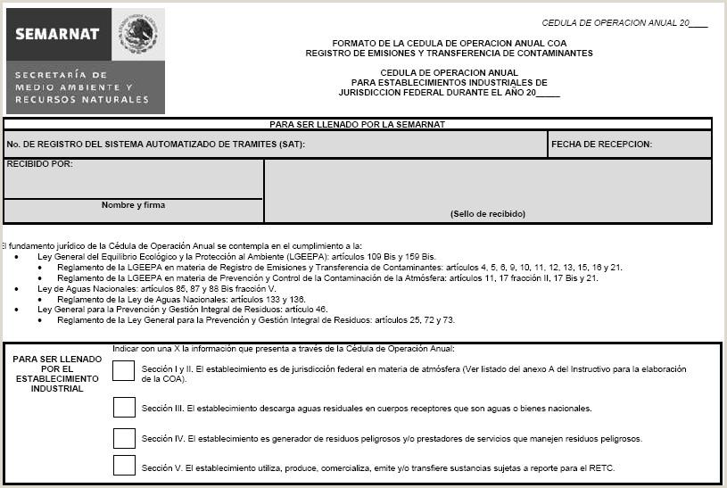 Formato De Curriculum Vitae Para Rellenar Mexico Dof Diario Icial De La Federaci³n