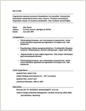 Formato De Curriculum Vitae Para Rellenar Sin Experiencia Más De 400 Plantillas De Cv Y Cartas De Presentaci³n Gratis