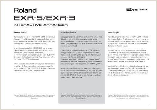 EXR 5 EXR 3 Roland