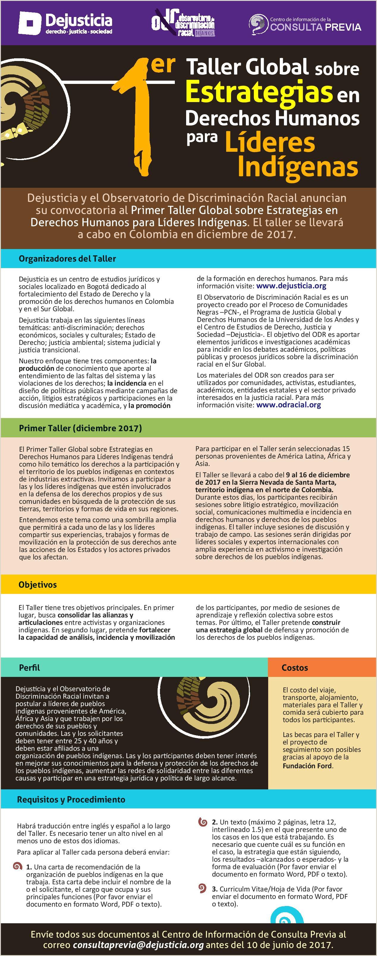 Formato De Hoja De Vida 2018 Colombia Observatorio De Discriminaci³n Racial Odr