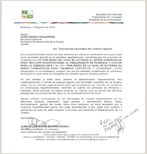 """Noticias GOBERNACI""""N DE LA GUAJIRA"""