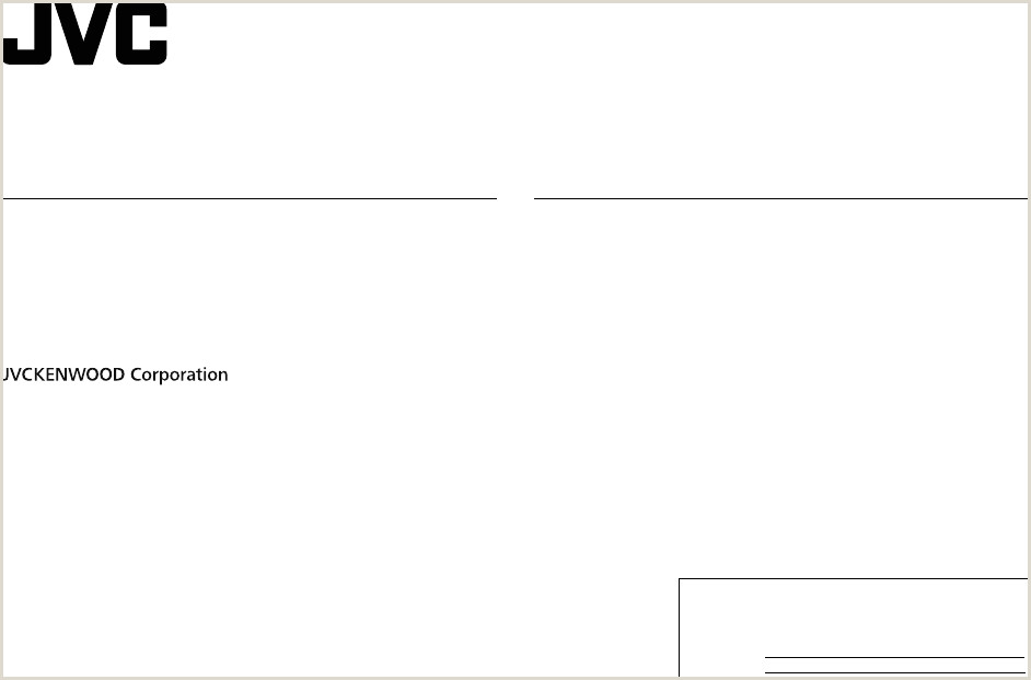 JVC KW X830BTS R935BTS K User Manual Instruction America