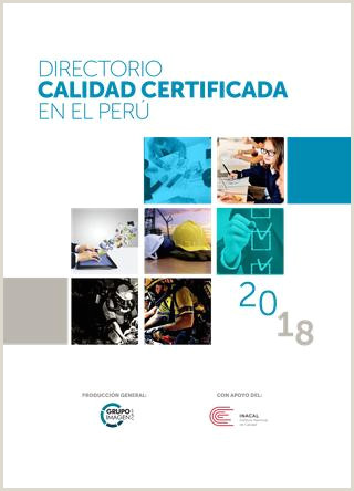 Directorio Calidad Certificada 2018 by Grupo Imagen SAC issuu