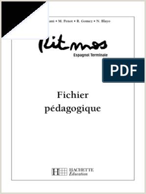 Formato De Hoja De Vida Artistica Ritmos Tle Espagnol Livre De L él¨ve Edition 2006