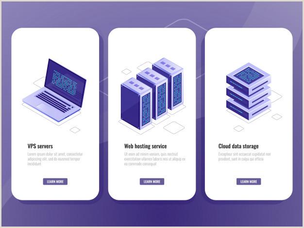 Formato De Hoja De Vida Azul Icono isométrico Del Servicio De Alojamiento Web Sala De