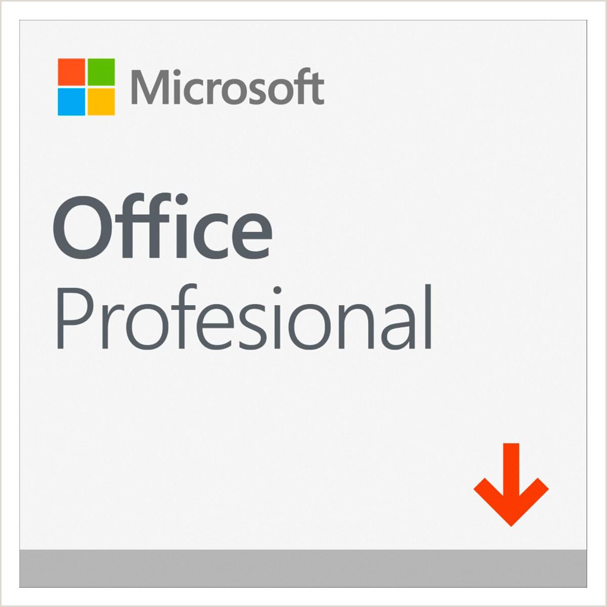 Formato De Hoja De Vida Basica En Word Microsoft Office Profesional 2019 1 Usuario