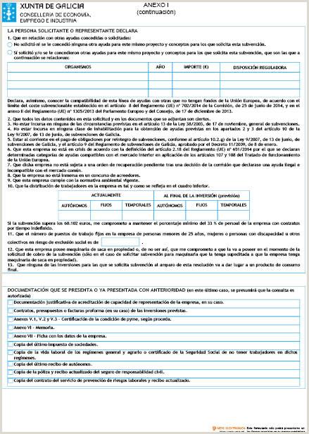 Formato De Hoja De Vida Bien Presentada Resoluci³n Del Dog Nº 82 De 2018 4 27 Xunta De Galicia