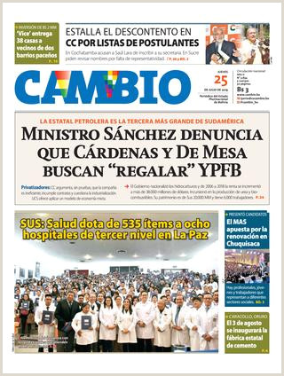 Formato De Hoja De Vida Bolivia Edicion 25 07 19 by Cambio Peri³dico Del Estado