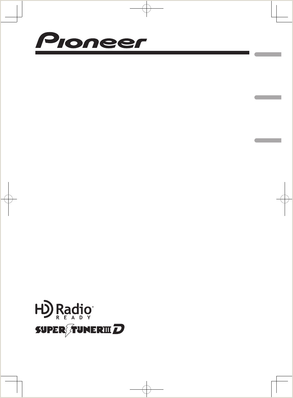 Formato De Hoja De Vida Compensar K029 Media Center Receiver User Manual Pioneer