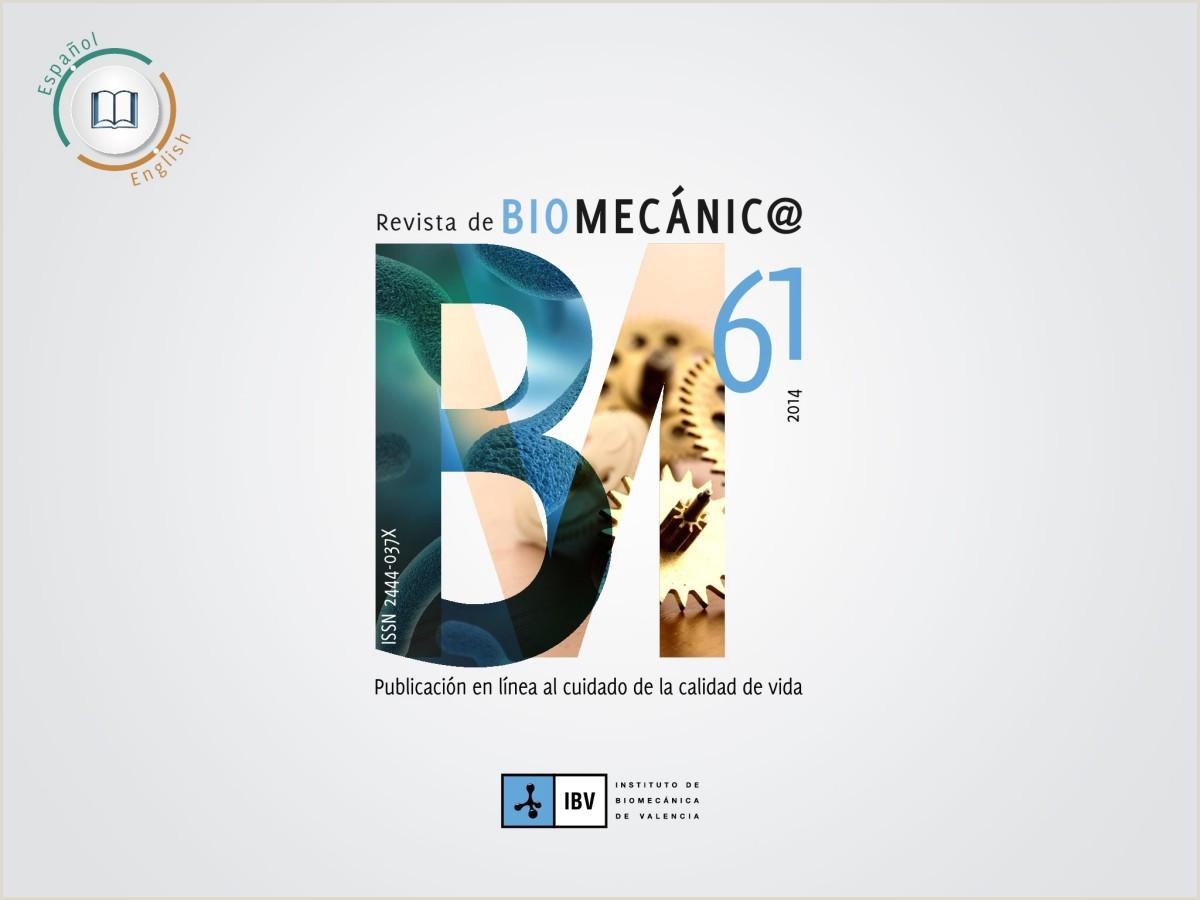 Revista de Biomecánica
