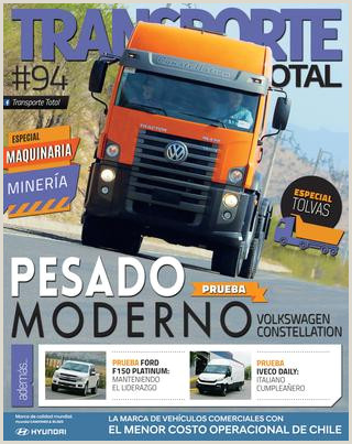 Formato De Hoja De Vida Daf Revista Transporte total Nº 94 Octubre 2018 by Rs Chile