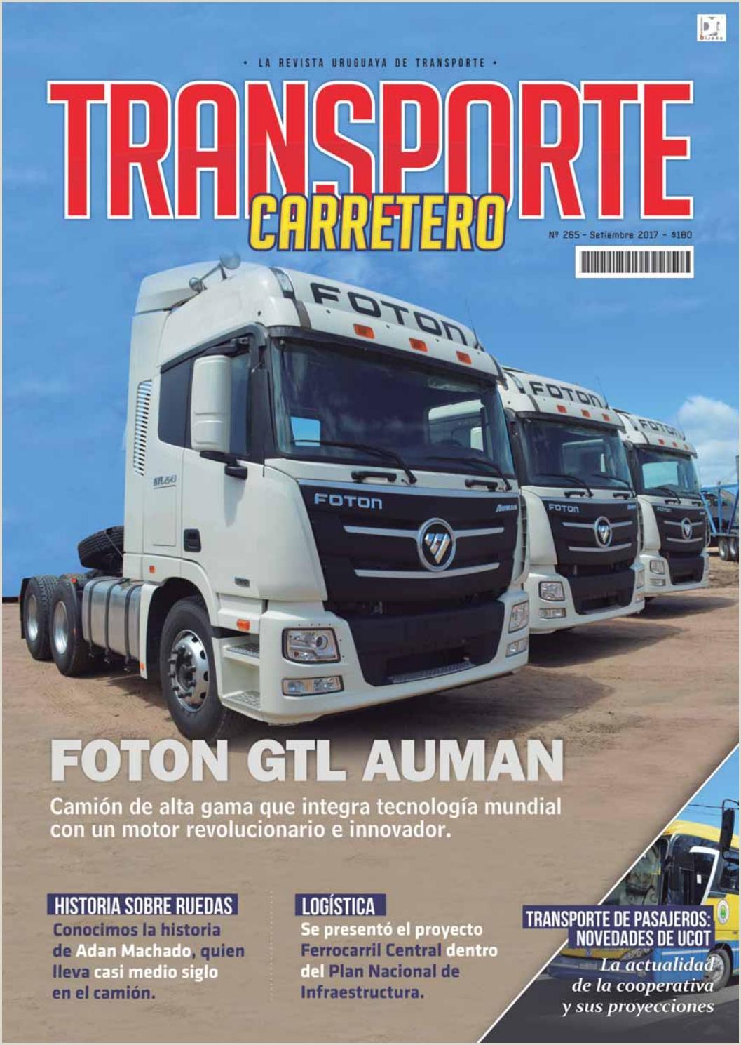 Formato De Hoja De Vida Daf Transporte Carretero Nº 265 Setiembre 2017 by Dise±o