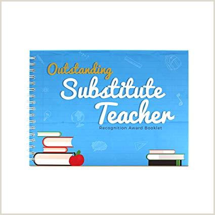 Premio a la mejor sustituto profesor folleto personalizado