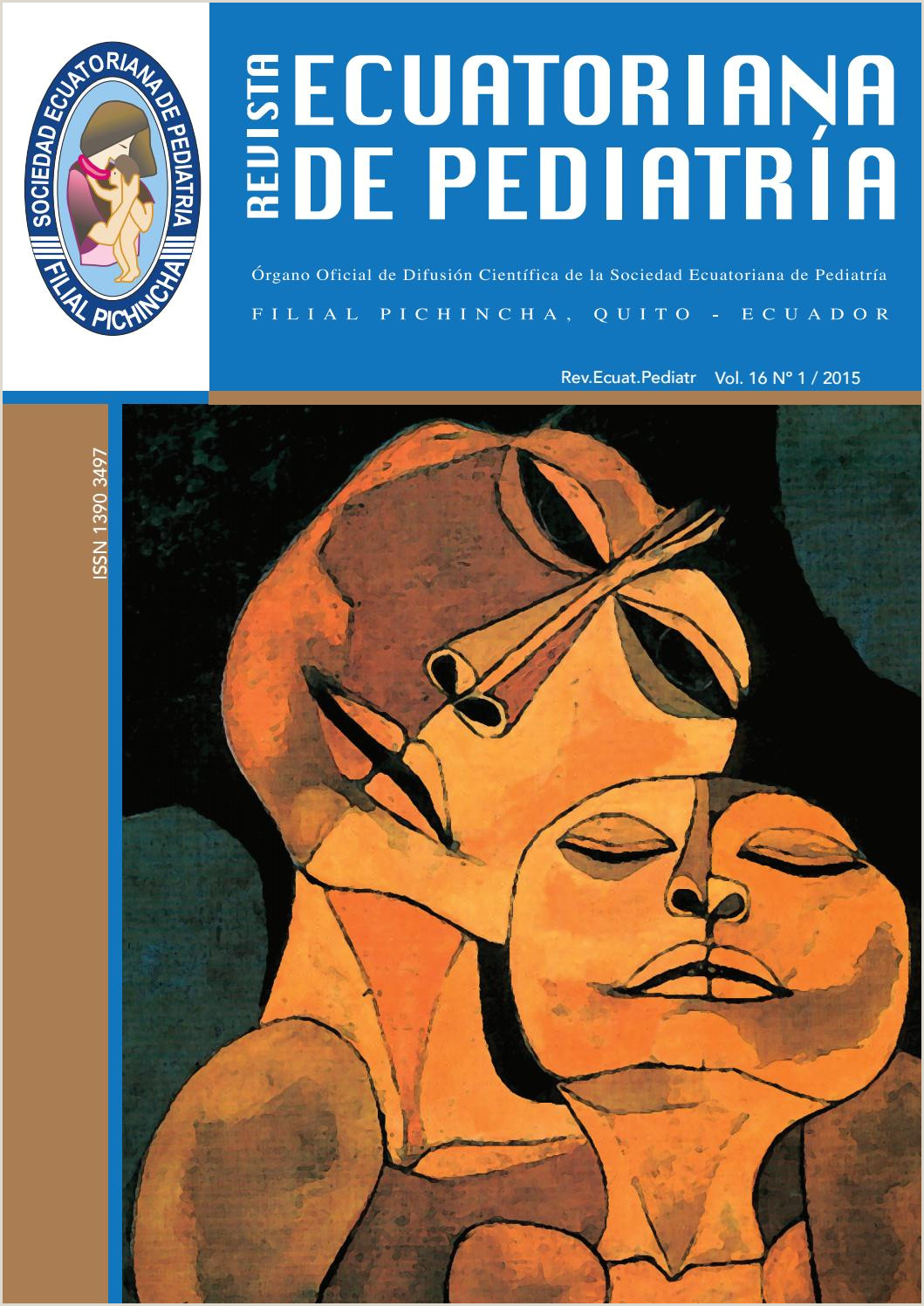 Revista Sociedad Ecuatoriana de Pediatr­a Vol16 1 by SEP