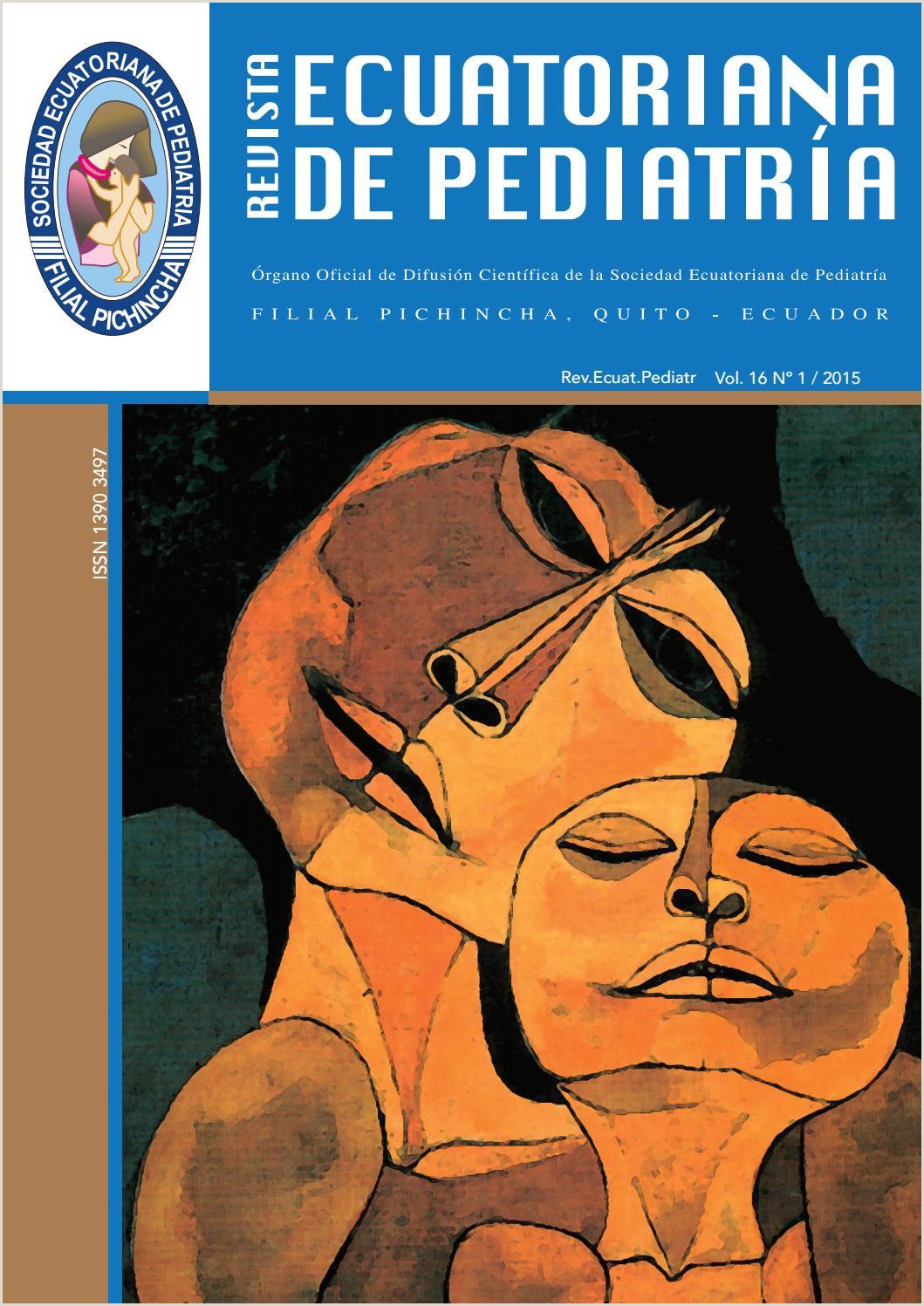 Revista Sociedad Ecuatoriana de Pediatra Vol16 1 by SEP