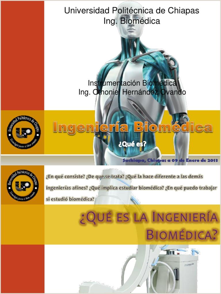 Que Es Ingenieria Biomedica Ingeniera Biomédica