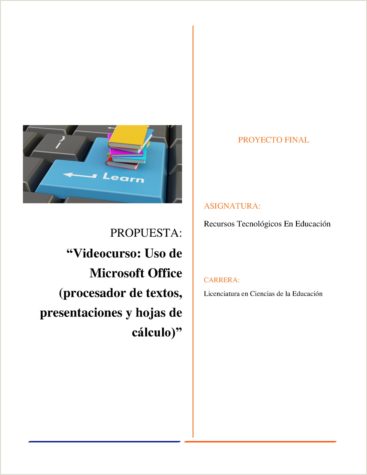 Trabajo Final RTE Propuesta UAT StuDocu