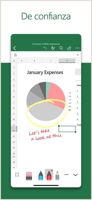 Formato De Hoja De Vida Excel Microsoft Excel En App Store