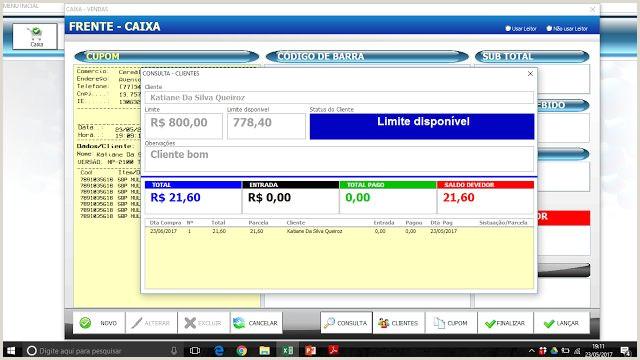 Formato De Hoja De Vida Excel Sistema Frontal De Caja Pdv En Excel Blog Luz