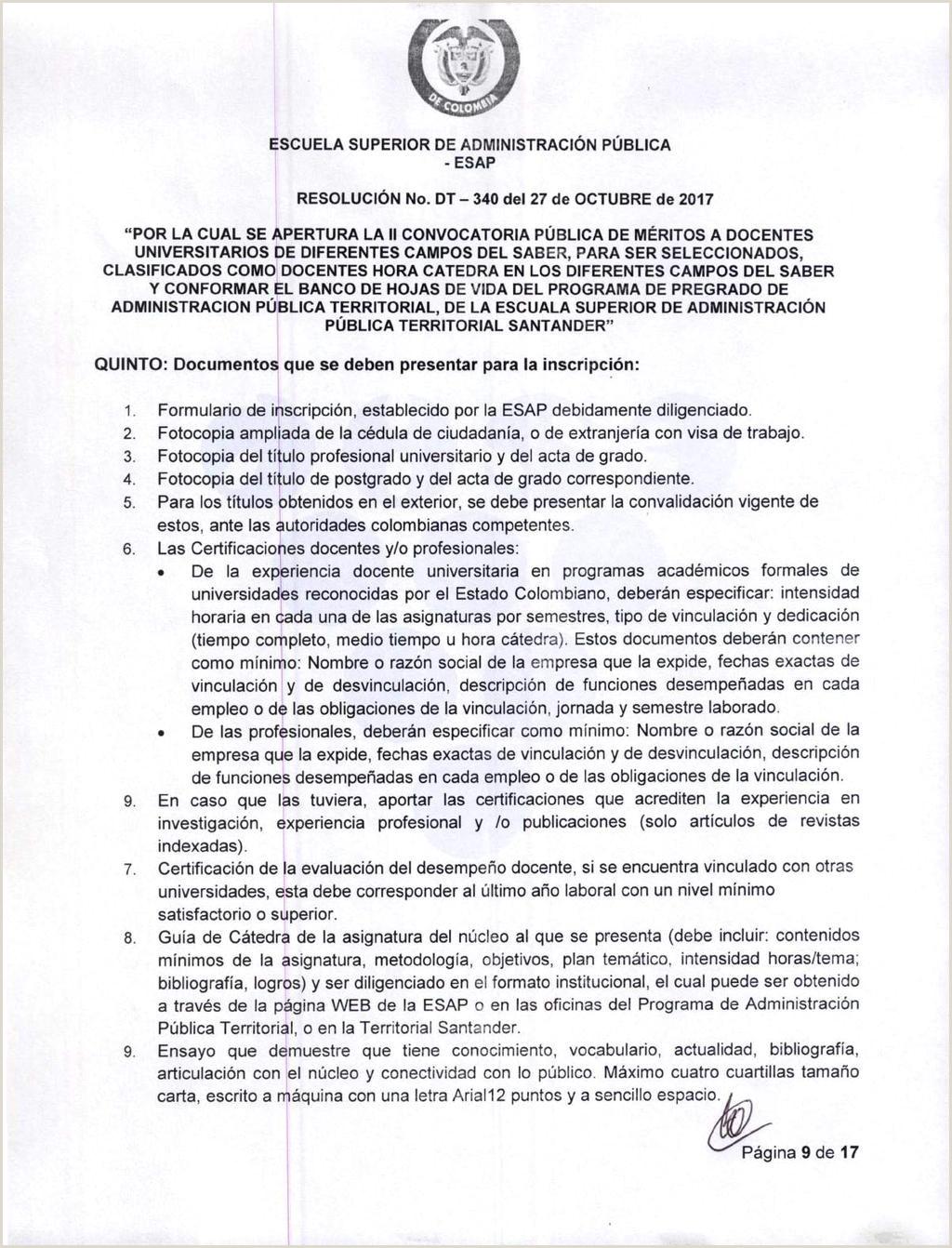 """Formato De Hoja De Vida Funcion Publica Colombia Escuela Superior De Administraci""""n Pšblica Esap"""