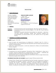 Formato De Hoja De Vida Funcion Publica Colombia formato Unico De Hoja De Vida Universidad Nacional