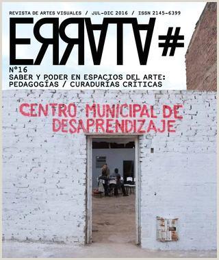Formato De Hoja De Vida Funcion Publica Colombia Revista Errata 16 Saber Y Poder En Espacios Del Arte
