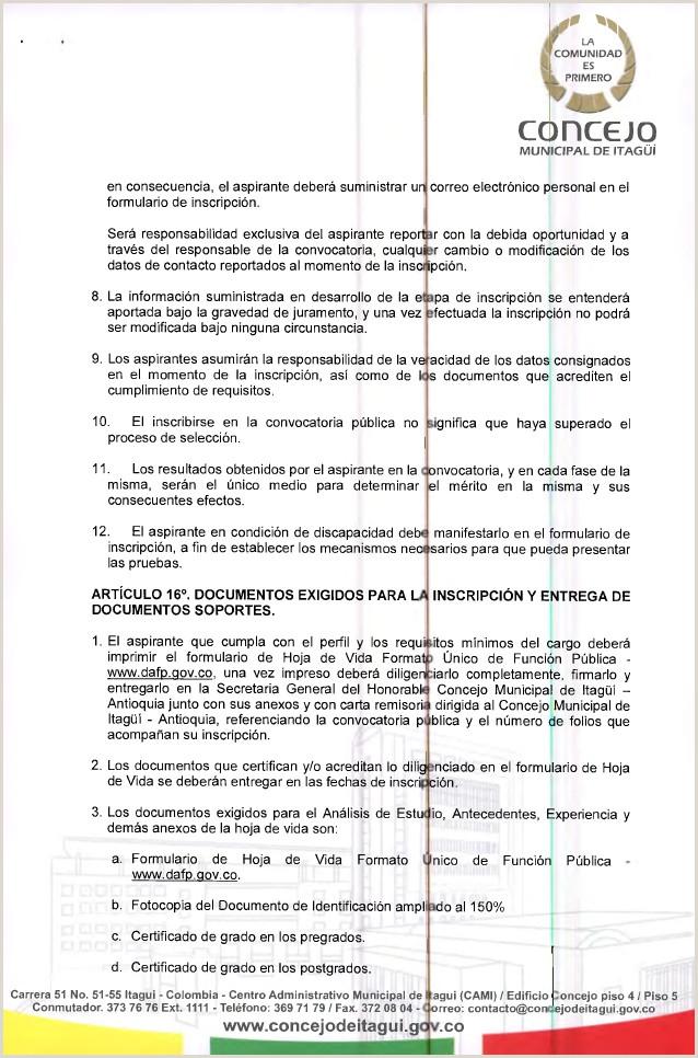 Resolucion 105 de 2015 convocatoria Secretario General