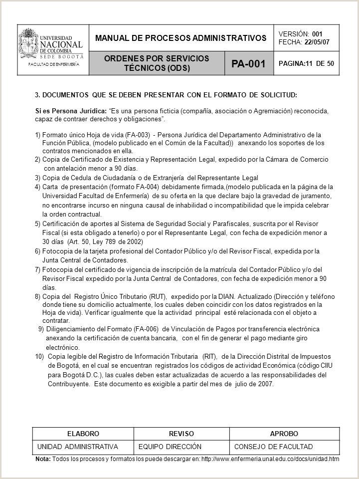 Formato De Hoja De Vida Funcion Publica Persona Juridica Facultad De Enfermera Ppt Descargar