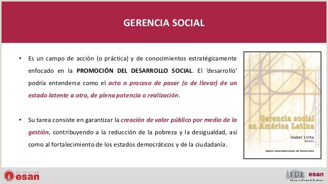 Gerencia Social Polticas Pºblicas Gobierno y Gesti³n