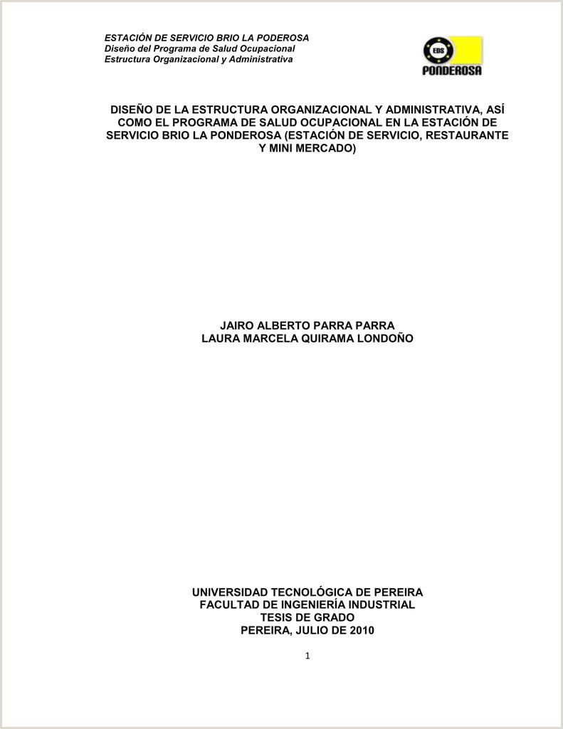 Formato De Hoja De Vida Gtc 185 Estaci³n De Servicio Brio La Ponderosa Manual De Procesos Y
