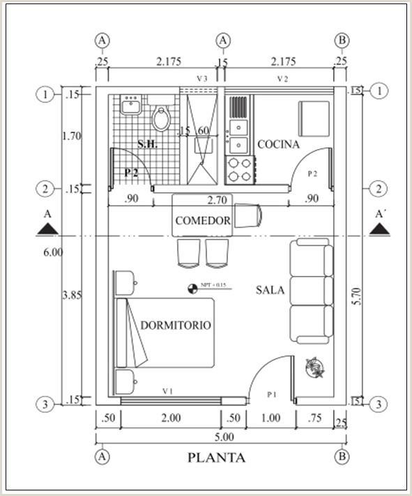 Planos de ingeniera civil Monografias