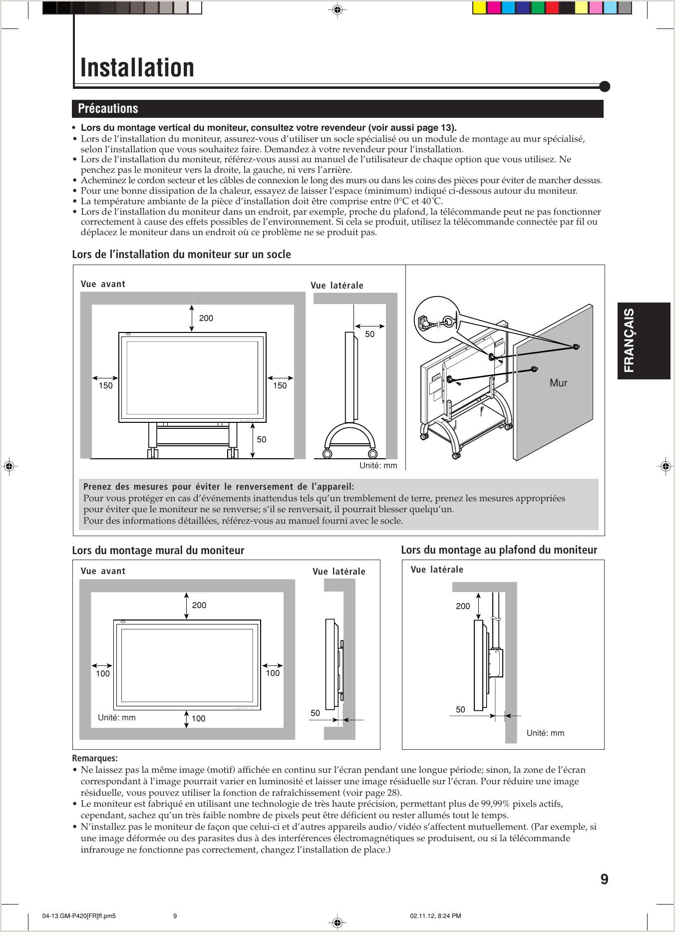 JVC GM P420PCE P420E 420PCE 421PCE User Manual P420PCE