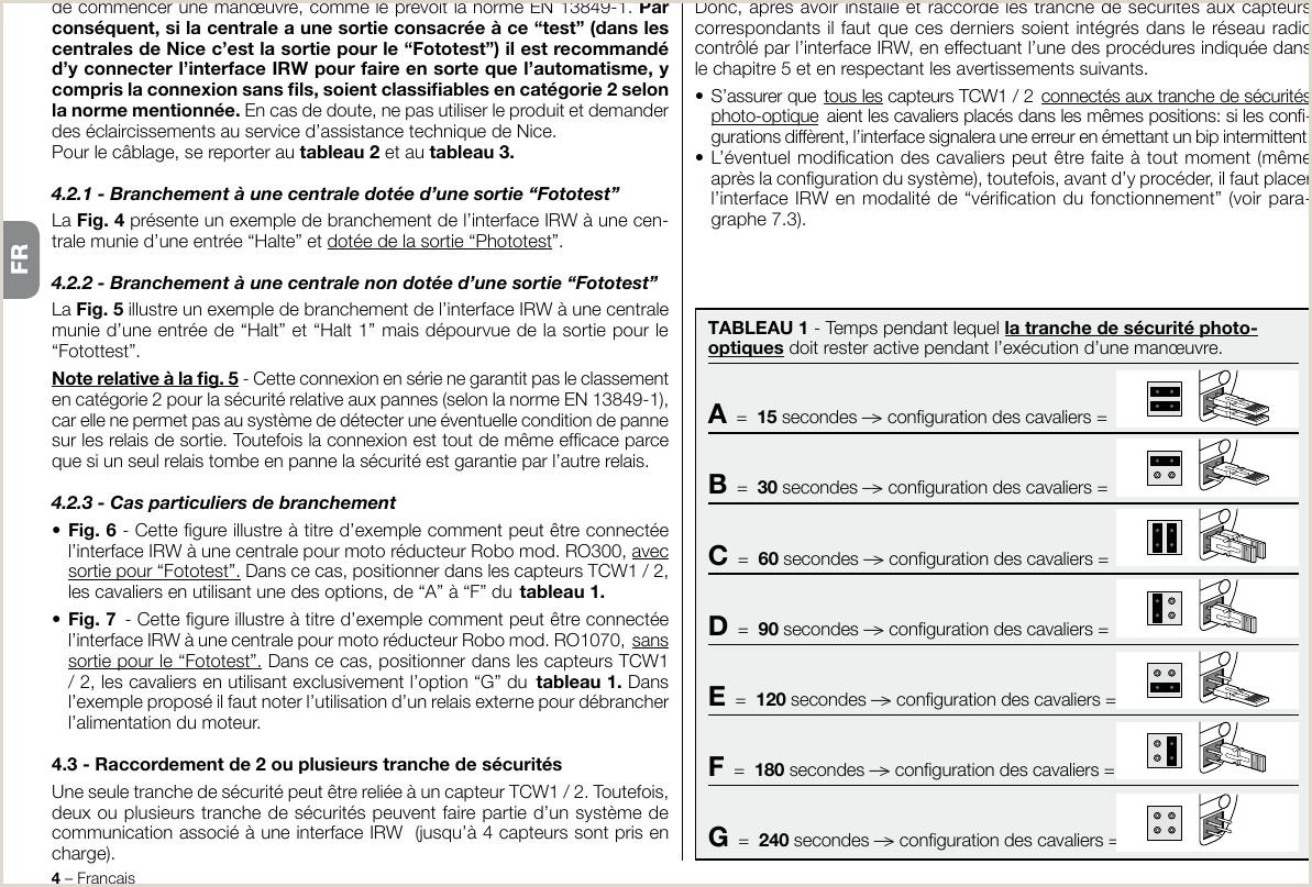 IRW Wireless radio interface User Manual Nice S p A