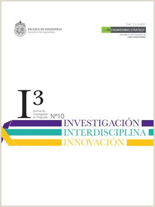 Journal I3 Investigaci³n Interdisciplina Innovaci³n by