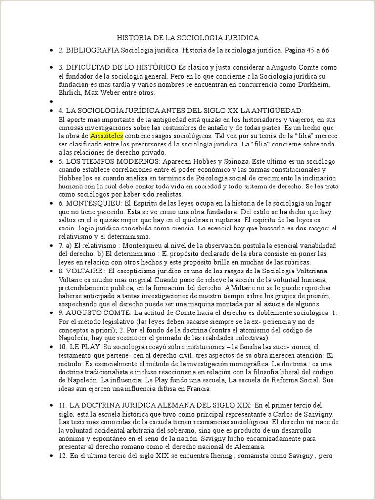 Formato De Hoja De Vida Juridica Historia De La sociologia Juridica