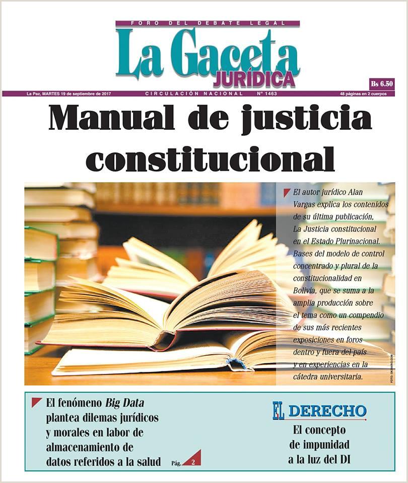 Tren Fugitivo Boliviano LA JUSTICIA CONSTITUCIONAL EN EL