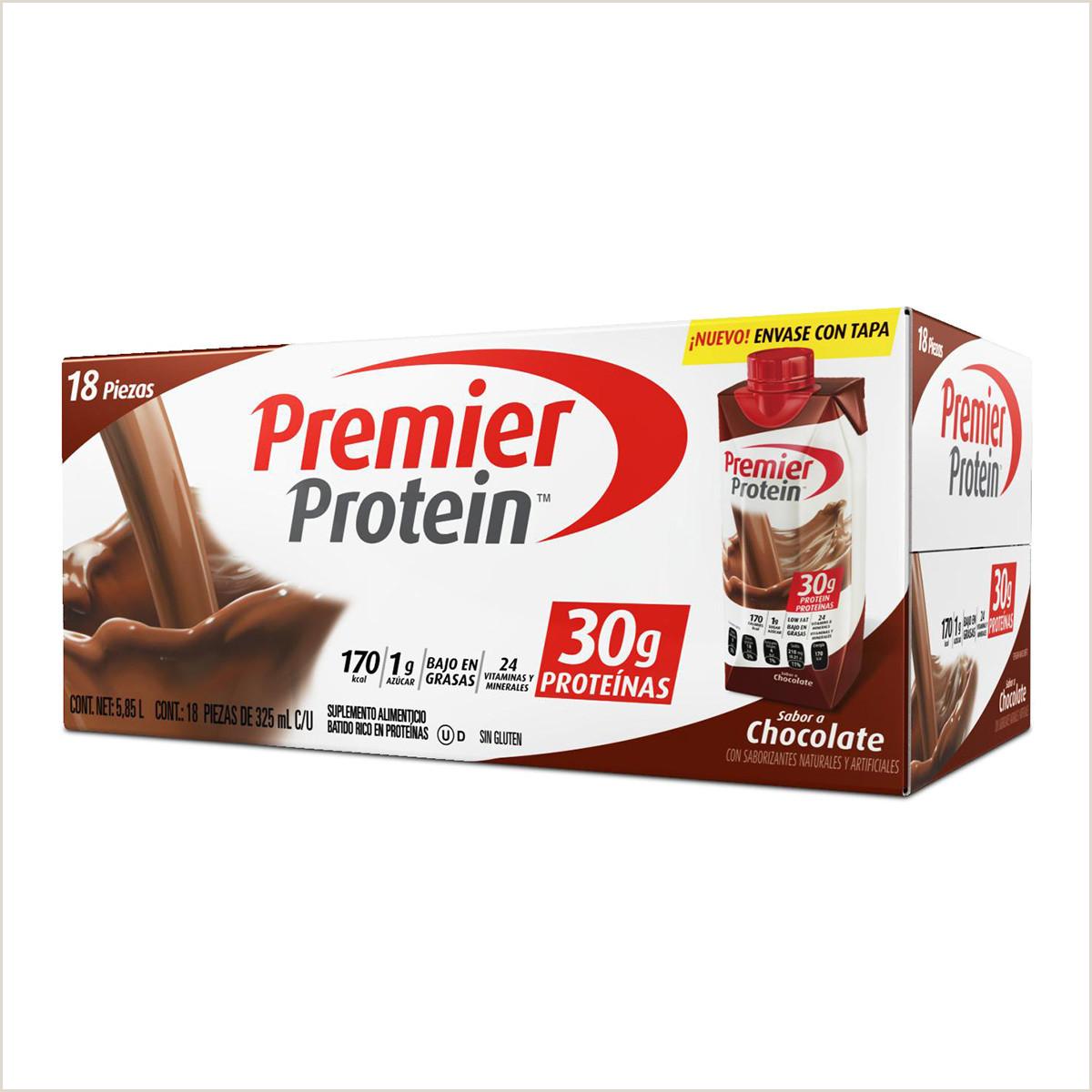 Premier Protein protena lista para beber sabor chocolate 18 piezas de 325 ml c u
