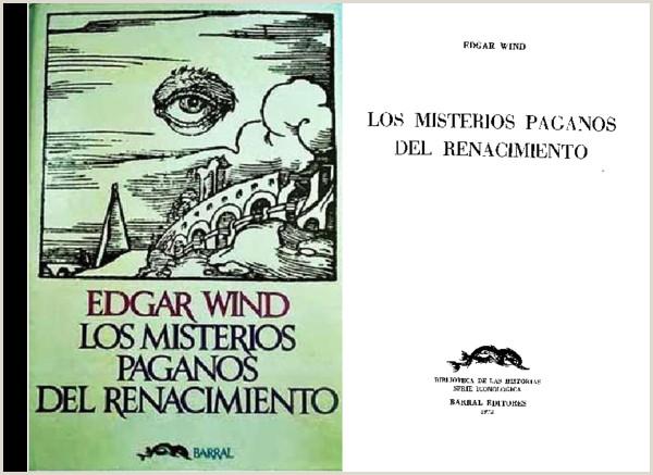 PDF Los Misterios Paganos del Renacimiento Wind Edgar