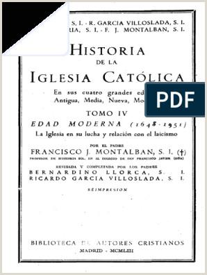 Llorca Bernardino Historia de La Iglesia Catolica IV