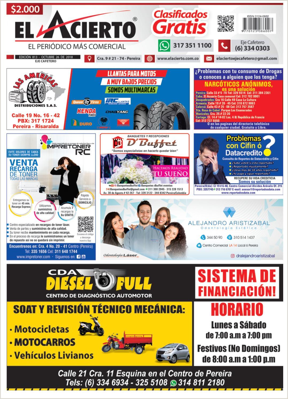 Formato De Hoja De Vida Minerva Para Imprimir Pereira 813 26 De Octubre 2018 by El Acierto issuu