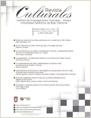 Culturales Vol 5 Nºm 1 enero junio 2017 [versi³n