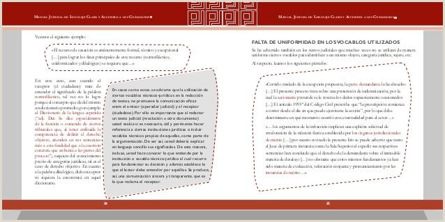 Manual judicial de lenguaje claro y accesible a los