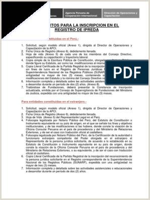 Requisitos Para La Inscripcion En El Registro De Ipreda