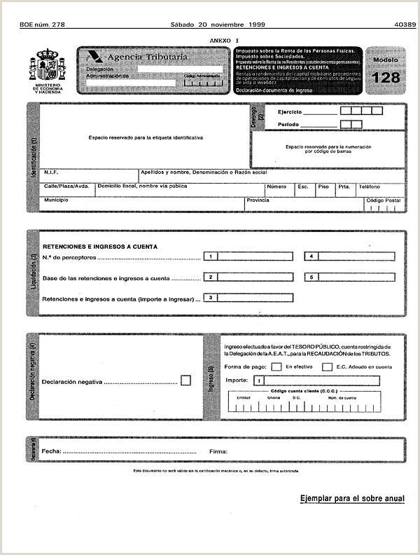 Formato De Hoja De Vida Unico Persona Juridica orden De 17 De Noviembre De 1999 Por La Que Se Aprueban Los