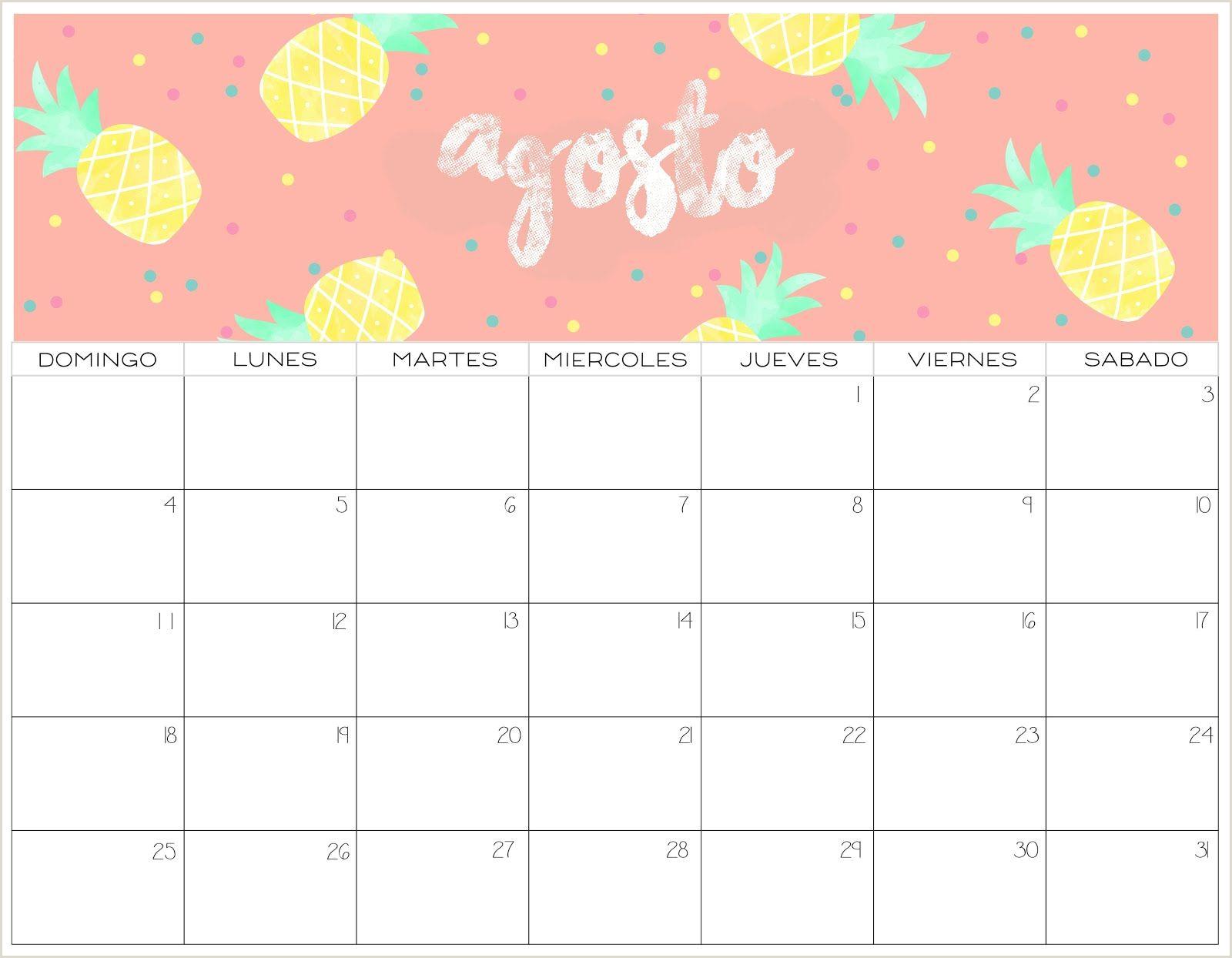 Calendario 2019 colorido 2 estilos Meses