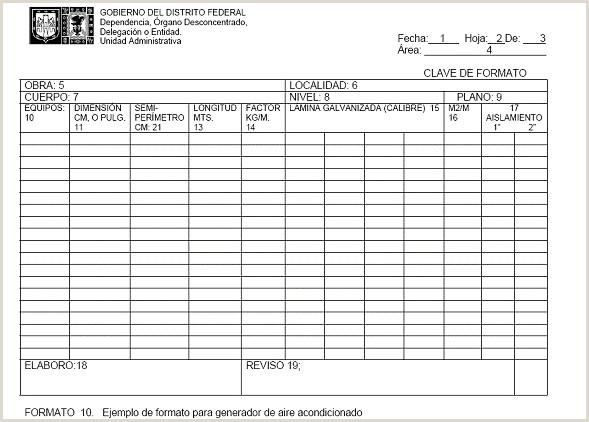 Formato Hoja De Vida andamios Secretara De Obras Y Servicios A 30 De Junio De 2010