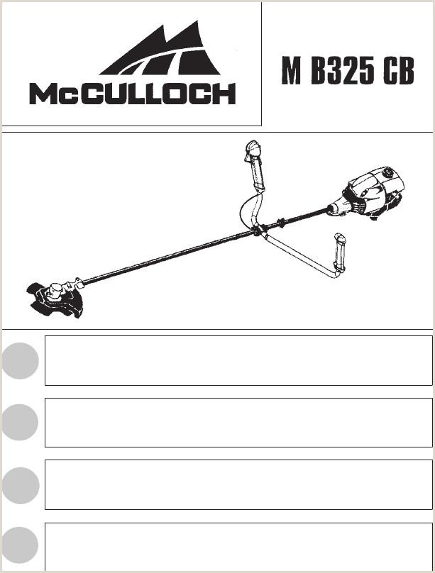 McCulloch M B325 CB OM McCulloch MB325 CB 2014